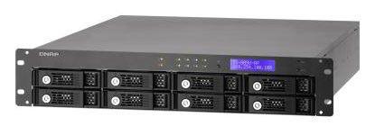 QNAP TS-809U-RP,  без дисков