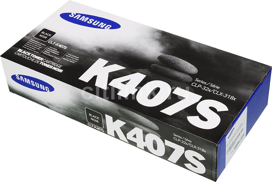 Картридж SAMSUNG CLT-K407S/SEE черный