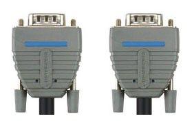Кабель VGA BANDRIDGE BCL1102,  VGA HD15 (m) -  VGA HD15 (m),  2м,  блистер,  синий