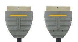 Кабель аудио-видео BANDRIDGE SCART (m)  -  SCART (m) ,  1м [bvl7101]