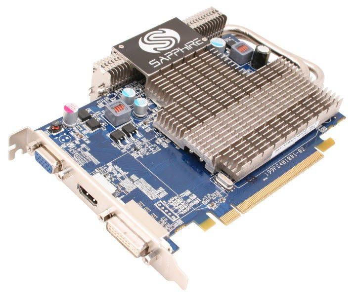 Видеокарта SAPPHIRE Radeon HD 4650,  1Гб, DDR2, oem [11140-xx-10r]