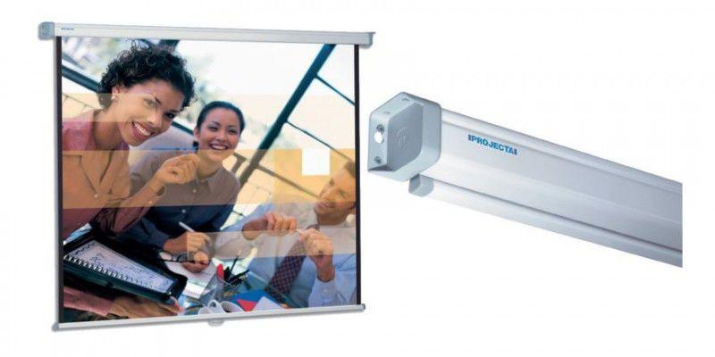 Экран PROJECTA SlimScreen,  145х145 см, 1:1,  настенно-потолочный [10200086]