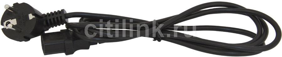 Кабель питания GEMBIRD IEC320 (m) -  евровилка,  1.8м [pc-186]