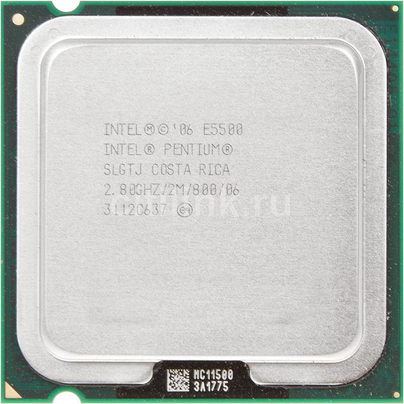 Процессор INTEL Pentium Dual-Core E5500, LGA 775 OEM [cpu intel s775 e5500 oem]