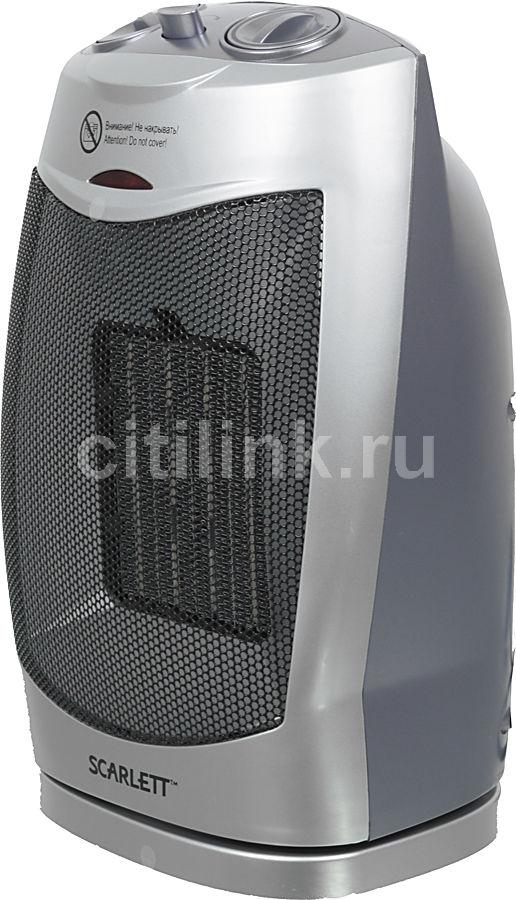 Тепловентилятор SCARLETT SC-1051,  1800Вт,  серебристый,  серый