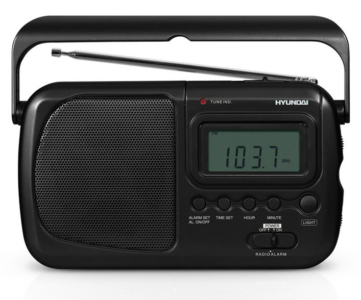Радиоприемник HYUNDAI H-1609,  черный