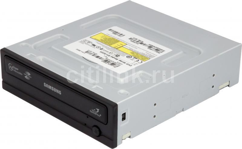 Оптический привод DVD-RW SAMSUNG SH-S223L, внутренний, SATA, черный,  Ret
