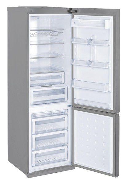 Холодильник SAMSUNG RL55VEBIH,  двухкамерный,  серебристый [rl55vebih1/bwt]