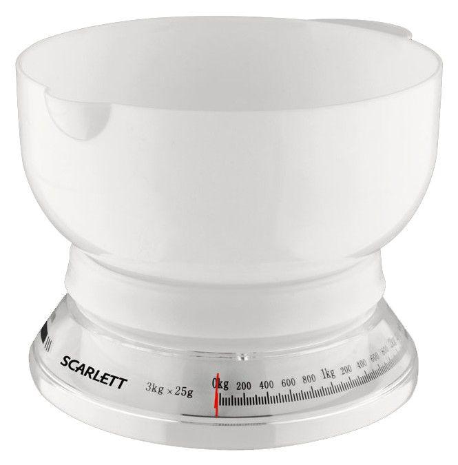 Весы кухонные SCARLETT SC1210,  белый