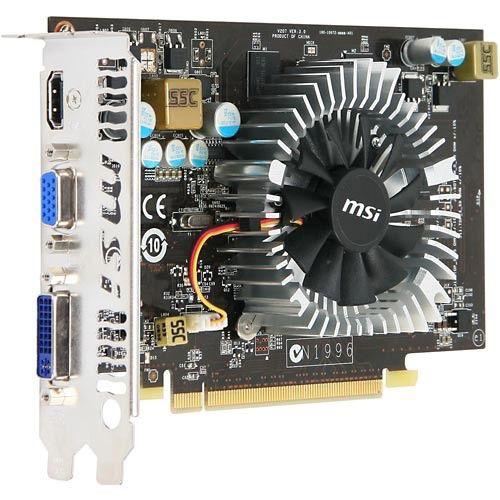 Видеокарта MSI PCI-E NV N240GT-MD512-ОС/D5 GT240 512Mb 128bit 550/3600 DDR5 HDTV+DVI bulk