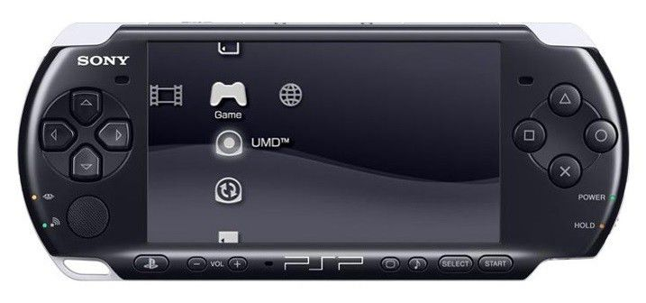 Игровая консоль SONY PlayStation Portable PSP-3008, серебристый