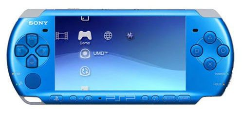 Игровая консоль SONY PlayStation Portable PSP-3008, синий