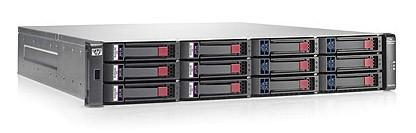Дисковый массив HP P2000 G3 MSA FC/iSCSI DC LFF Array (AW567A)