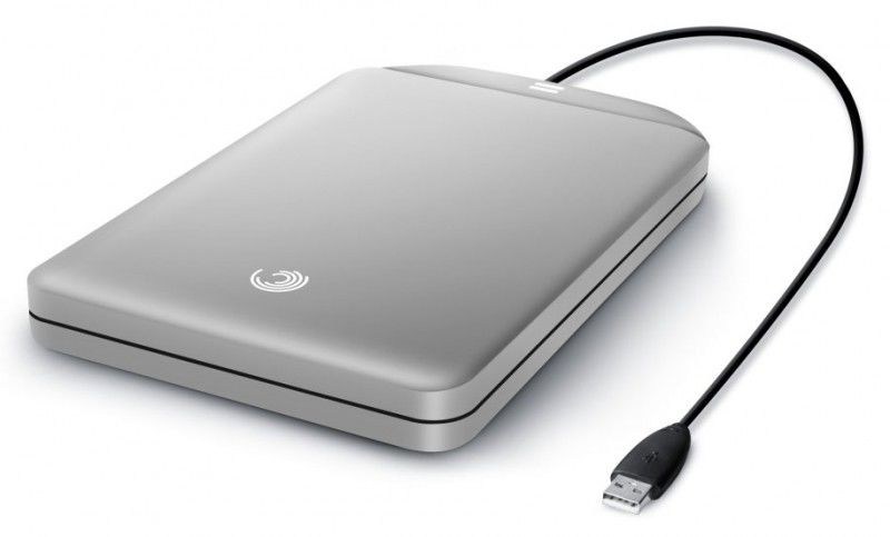 Внешний жесткий диск SEAGATE FreeAgent GoFlex STAA320201, 320Гб, серебристый