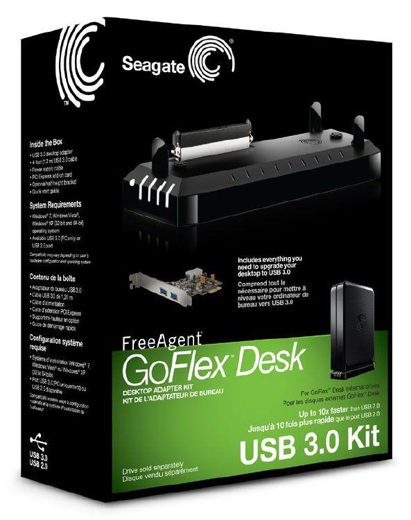 seagate goflex desk adapter usb 3.0 manual
