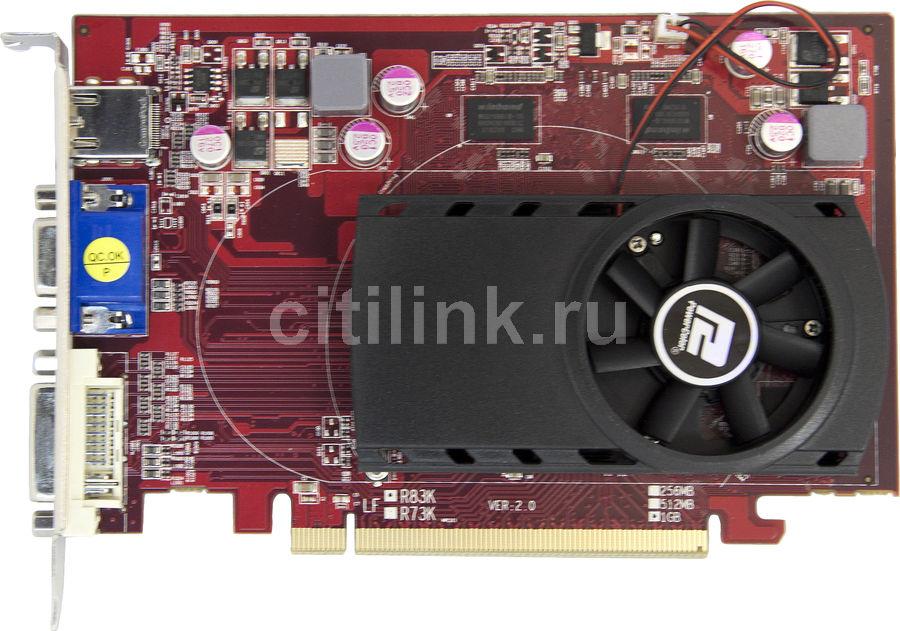 Видеокарта POWERCOLOR Radeon HD 5550,  1Гб, DDR3, Ret [ax5550 1gbk3-hv2]