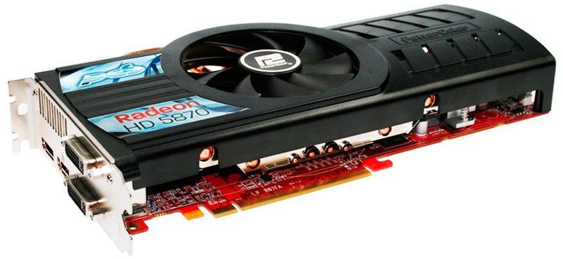 Видеокарта POWERCOLOR Radeon HD 5870,  1Гб, GDDR5, Ret [ax5870 1gbd5-pdh]