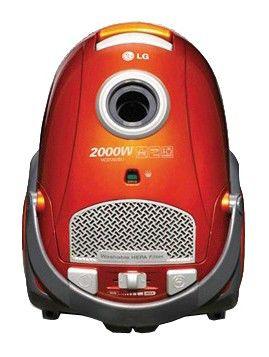 Пылесос LG VC37202SU, 2000Вт, красный
