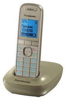 Радиотелефон PANASONIC KX-TG5511RUJ,  бежевый