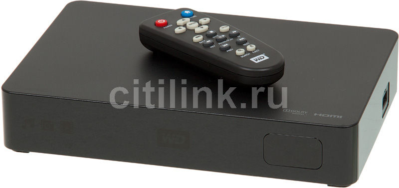 Медиаплеер WD Elements Play WDBACC0020HBK-EESN,  2Тб черный