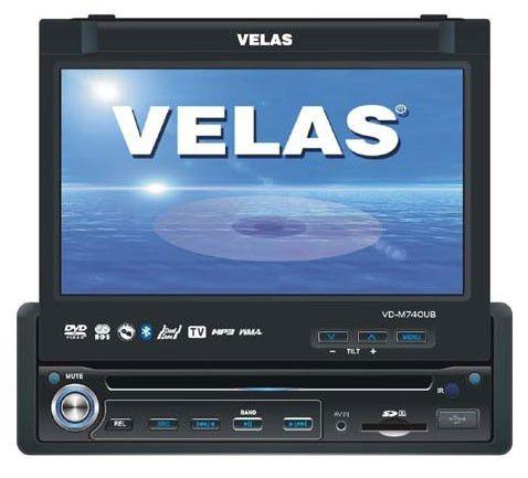 Автомагнитола VELAS VD-M740UB,  USB,  SD