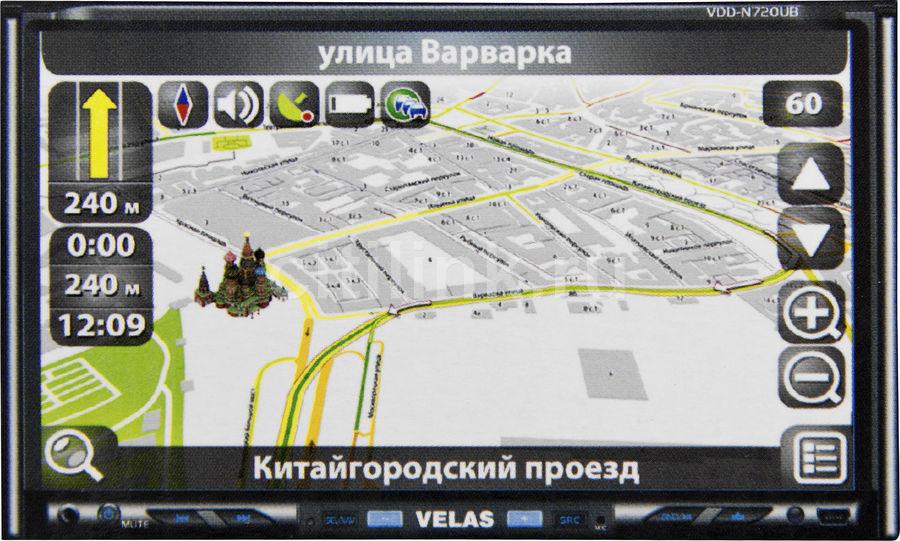 Автомагнитола VELAS VDD-N720UB,  USB,  SD
