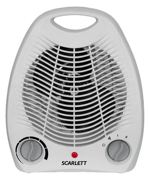 Тепловентилятор SCARLETT SC-158,  2000Вт,  серый