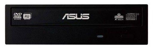 Оптический привод DVD-RW ASUS DRW-24B3ST, внутренний, SATA, черный,  Ret [drw-24b3st/blk/g/as]