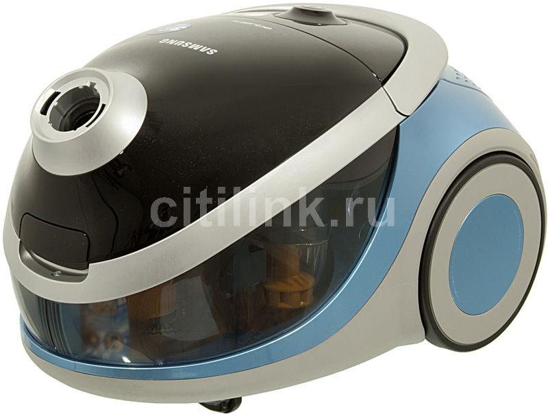 Пылесос SAMSUNG SD9420, 1600Вт, голубой/черный