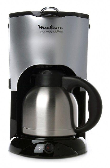 Кофеварка MOULINEX CJ600530,  капельная,  серебристый [8000032853]