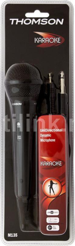 Микрофон  Thomson M135,  черный