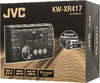 Автомагнитола JVC KW-XR417ЕЕ,  USB вид 7
