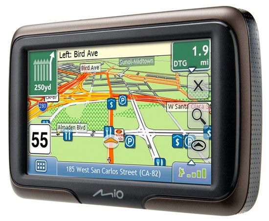 GPS навигатор MIO Moov M400,  4.3