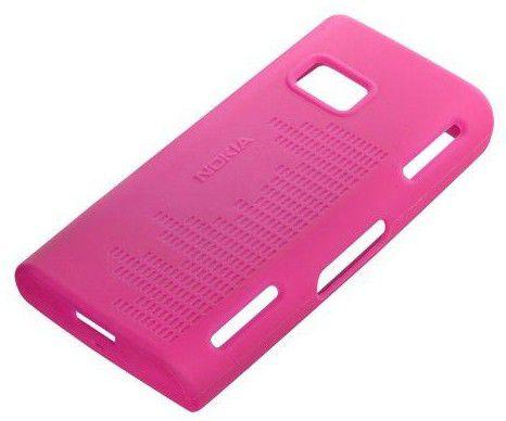Чехол (клип-кейс) NOKIA CC-1001, для Nokia X6, розовый