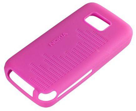 Чехол (клип-кейс) NOKIA CC-1002, для Nokia 5530, розовый