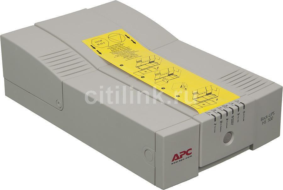 Источник бесперебойного питания APC Back-UPS BH500INET,  500ВA