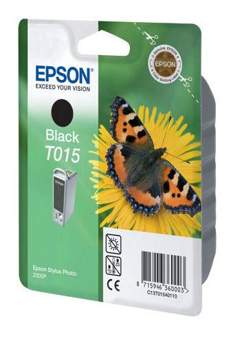 Картридж EPSON C13T01540110 черный