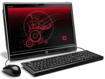 HP Compaq 100eu AIO,  Intel  Atom  D410,  DDR2 1Гб, 160Гб,  Intel GMA 3150,  DVD-RW,  Free DOS,  черный [xf916ea]