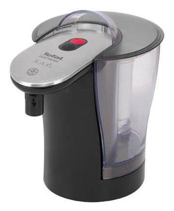 Чайник электрический TEFAL BR3038, 2800Вт, черный и серебристый