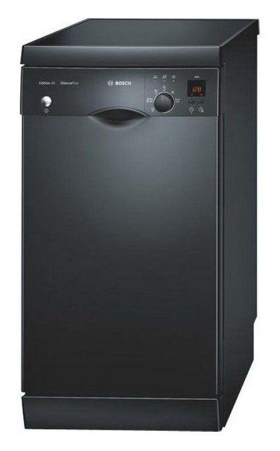 Посудомоечная машина BOSCH SRS55M76EU,  узкая, черный