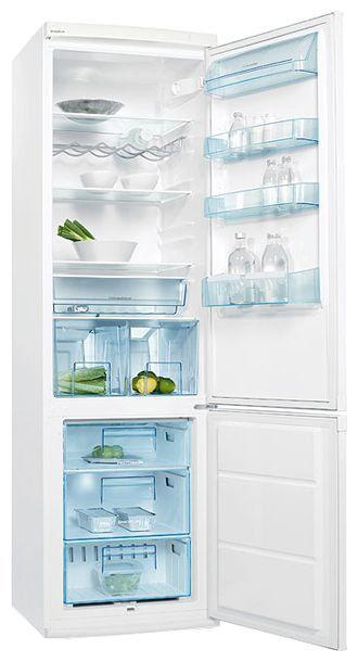 Холодильник ELECTROLUX ERB40233W,  двухкамерный,  белый