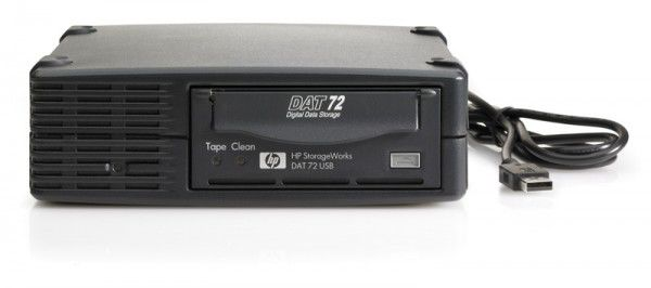 Ленточный привод HP DAT72 USB Trade-ReadyTape Drive (DW061A)