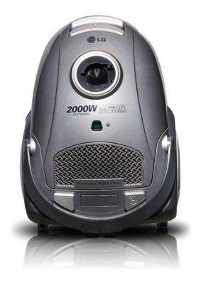 Пылесос LG VC37203HQ, 2000Вт, серебристый
