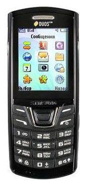 Мобильный телефон SAMSUNG Duos Lite GT-E2152  черный