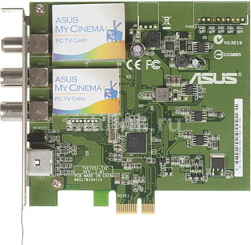 ТВ-тюнер ASUS ES3-110/PTS/FM/AV/RC,  внутренний