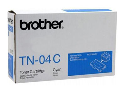 Картридж BROTHER TN04C голубой