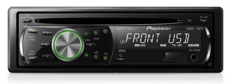 Автомагнитола PIONEER DEH-2220UB,  USB