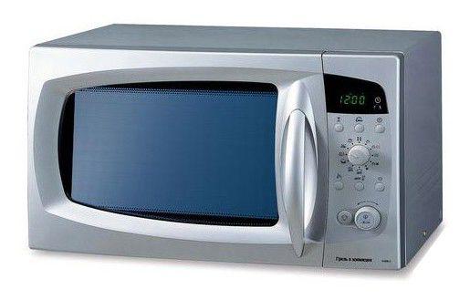 Микроволновая печь SAMSUNG C105AFR-TS, серебристый