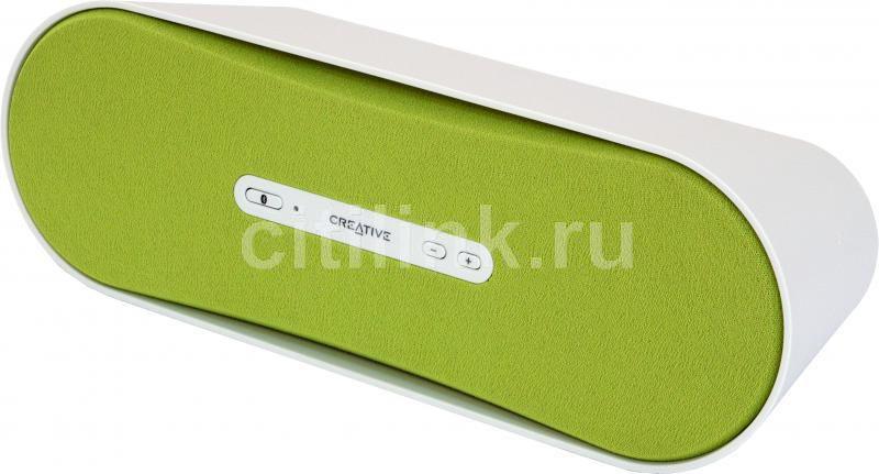 Портативные колонки CREATIVE D100,  зеленый [51mf8090aa003]
