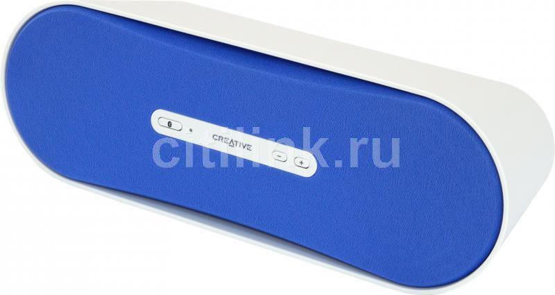 Портативные колонки CREATIVE D100,  голубой [51mf8090aa006]